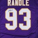 John Randle Autographed Signed Minnesota Vikings Jersey JSA