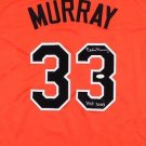 Eddie Murray Autographed Signed Baltimore Orioles Jersey JSA