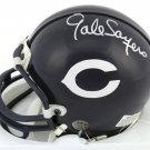 Gale Sayers Signed Autographed Chicago Bears Mini Helmet BECKETT