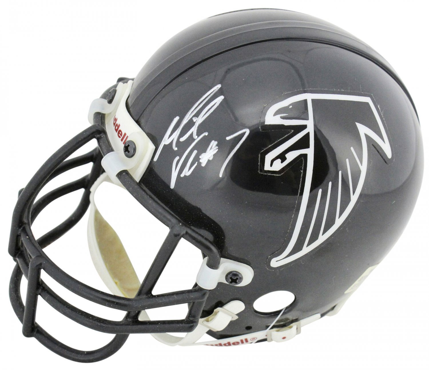 Michael Vick Signed Autographed Atlanta Falcons Mini Helmet BECKETT
