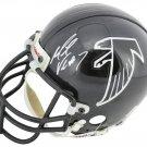 Michael Vick Signed Autographed Atlanta Falcons Mini Helmet BECKETT