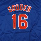 Dwight Gooden Signed Autographed New York Mets Jersey JSA