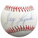 Greg Luzinski Philadelphia Phillies Autographed Signed NL Baseball BECKETT
