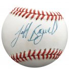 Jeff Bagwell Houston Astros Autographed Signed NL Baseball BECKETT