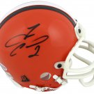 Tim Couch Signed Autographed Cleveland Browns Mini Helmet BECKETT