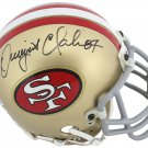 Dwight Clark Autographed Signed San Francisco 49ers Mini Helmet BECKETT