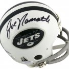 Joe Namath Don Maynard Autographed Signed New York Jets Mini Helmet BECKETT