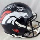 Von Miller Autographed Signed Denver Broncos Speed Proline Helmet JSA
