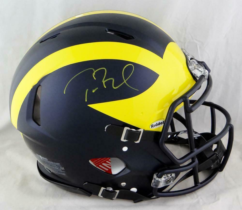 Tom Brady Autographed Signed Michigan Wolverines Proline Helmet TRISTAR