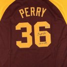 Gaylord Perry Autographed Signed San Diego Padres Jersey JSA