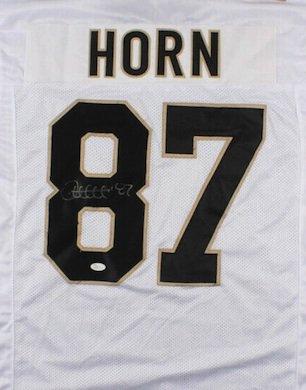 Joe Horn Autographed Signed New Orleans Saints Jersey JSA