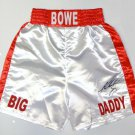 Riddick Bowe Autographed Signed Boxing Trunks JSA
