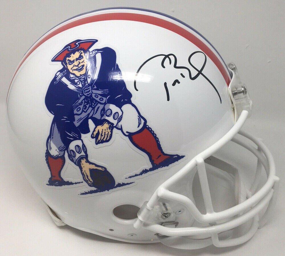 Tom Brady Autographed Signed New England Patriots Throwback Proline Helmet TRISTAR