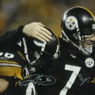 Ben Roethlisberger Hines Ward Autographed Signed Pittsburgh Steelers 16x20 Photo JSA