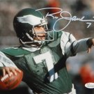 Ron Jaworski Signed Autographed Philadelphia Eagles 8x10 Photo JSA