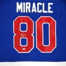 Mike Eruzione Autographed Signed 1980 Miracle Team USA Hockey Jersey PSA
