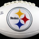 LeVeon Bell Autographed Signed Pittsburgh Steelers Logo Football BECKETT