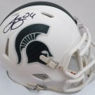 LeVeon Bell Autographed Signed Michigan State Spartans Mini Helmet BECKETT