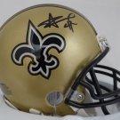Alvin Kamara Autographed Signed New Orleans Saints Mini Helmet BECKETT