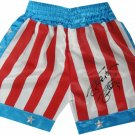 Sylvester Stallone Autographed Signed Rocky Boxing Trunks OA COA