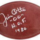 Jim Otto Signed Autographed Oakland Raiders NFL Football BECKETT
