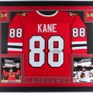 Patrick Kane Autographed Signed Framed Blackhawks Jersey JSA