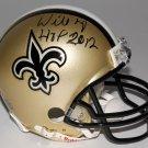 Willie Roaf Autographed Signed New Orleans Saints Mini Helmet JSA