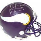 Cris Carter Signed Autographed Minnesota Vikings Mini Helmet JSA