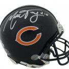 Mitch Trubisky Autographed Signed Chicago Bears Mini Helmet FANATICS