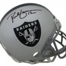 Rich Gannon Signed Autographed Oakland Raiders Mini Helmet JSA
