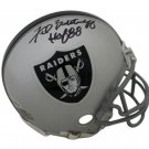 Fred Biletnikoff Signed Autographed Oakland Raiders Mini Helmet BECKETT