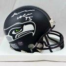 LJ Collier Signed Autographed Seattle Seahawks Mini Helmet COA