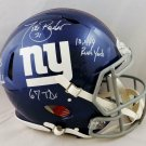 Tiki Barber Autographed Signed New York Giants FS Speed Proline Helmet JSA