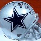 Cliff Harris Signed Autographed Dallas Cowboys Mini Helmet BECKETT