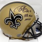 Drew Brees Autographed Signed New Orleans Saints Mini Helmet BECKETT