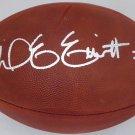 Ezekiel Elliott Signed Autographed Dallas Cowboys Leather Football BECKETT