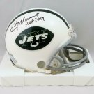Kevin Mawae Autographed Signed New York Jets Mini Helmet BECKETT