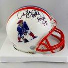 Andre Tippett Autographed Signed New England Patriots Mini Helmet BECKETT