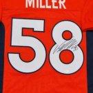 Von Miller Autographed Signed Denver Broncos Jersey JSA