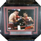Manny Pacquiao Signed Autographed Framed 8x10 Photo PSA
