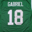 Roman Gabriel Signed Autographed Philadelphia Eagles Jersey JSA