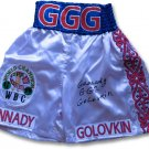 Gennady Golovkin Autographed Signed WBC Champ Boxing Trunks JSA