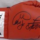 George Foreman Autographed Signed Everlast Red Boxing Glove JSA