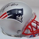 Josh Gordon Autographed Signed New England Patriots Mini Helmet BECKETT