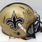 Marshon Lattimore Autographed Signed New Orleans Saints Mini Helmet BECKETT