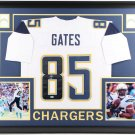 Antonio Gates Autographed Signed Framed Chargers Jersey BECKETT