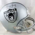 Howie Long Autographed Signed Oakland Raiders FS Helmet BECKETT