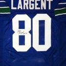 Steve Largent Autographed Signed Seattle Seahawks Jersey JSA