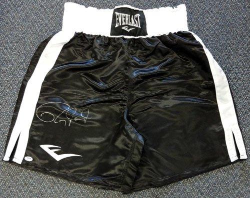 Roy Jones Jr. Autographed Signed Everlast Boxing Trunks PSA