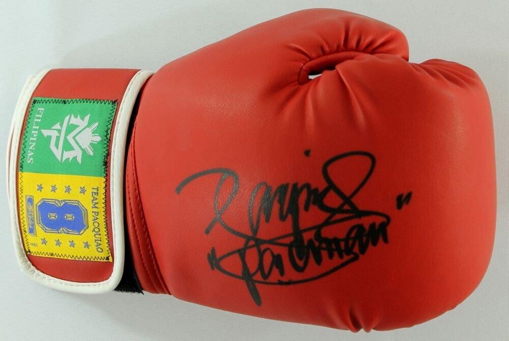 Manny Pacquiao Signed Autographed Boxing Glove PACQUIAO COA